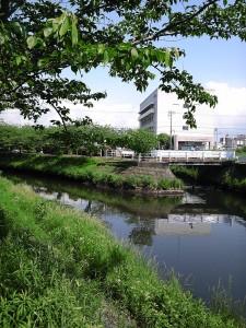 JA船橋付近