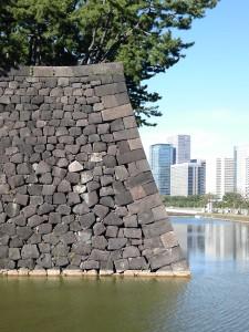 コーキョの石垣 桜田門脇の石垣のラインがすごくカッコいい。