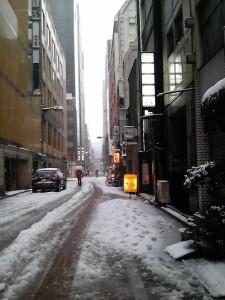 雪のランブル
