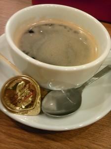 メイドカフェのコーヒー