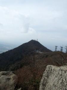 男体山のピーク
