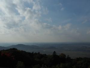 筑波山神社バス停より
