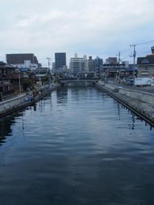 海老川 と船橋市街地