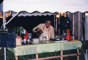 10年前の学祭の時の喫茶店
