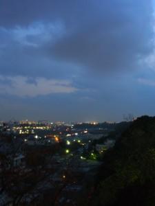 日が暮れて 船橋