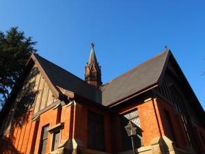 明治学院大学内 教会
