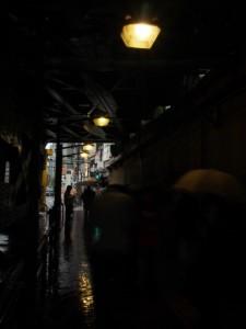 飯田橋東口 印象的な光景