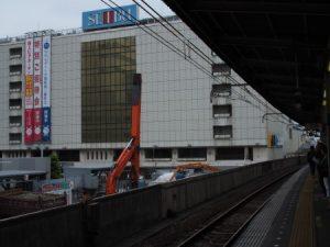 2016.6.6JR船橋 ホーム