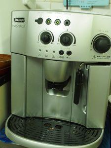 ジムショのコーヒーマシン