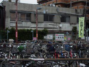 大正駅前 駐輪場