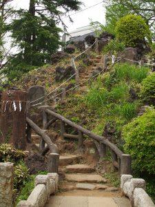 富士塚 鳩森神社