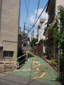 菊坂周辺の小さい坂