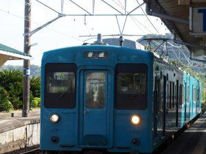 ローカル線で移動!!