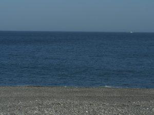 海を見ながら移動 移動 移動