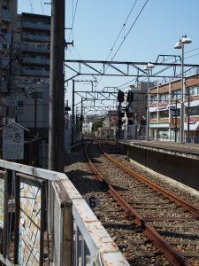 京成市川真間付近線路