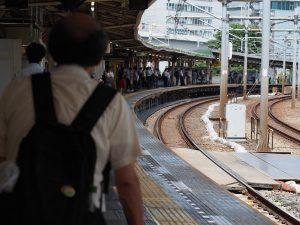 飯田橋駅のカァブ