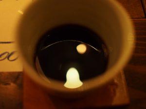 ランプとコーヒー
