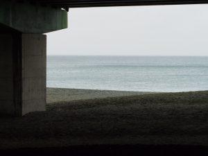 大磯の海&高架2017.10.16