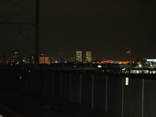 幕張副都心の夜景