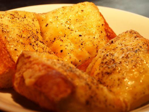 宮越屋 チーズトーストうまい