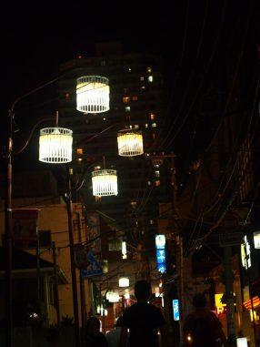 夜の山口横丁