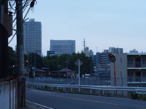 夏見の坂 船橋方面