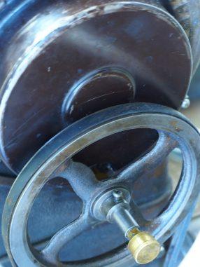 動輪の部分