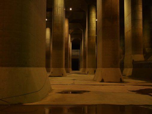 巨大な地下空間 首都圏外郭放水路