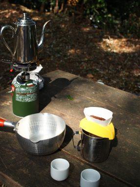 山で本気コーヒー!!