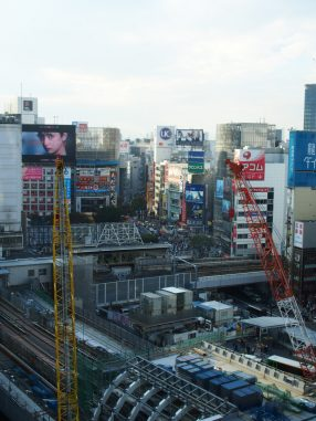 銀座線 新渋谷駅工事中