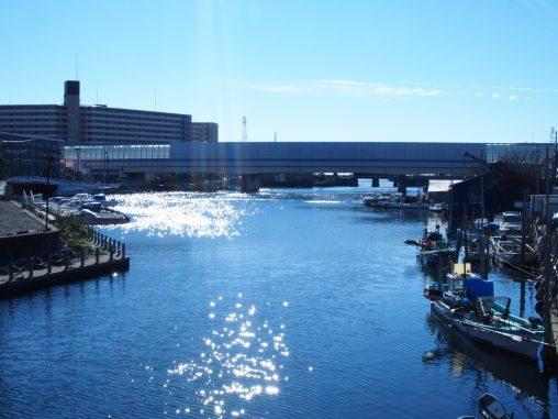 いーー感じの船橋の港