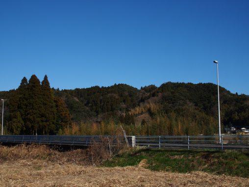 小谷松付近の風景