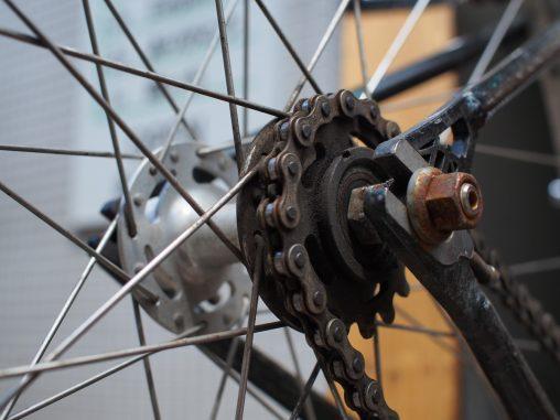 山ちゃんの自転車のハブ