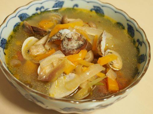 洋風アサリのスープ