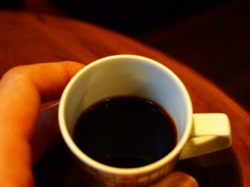 飄々のコーヒーの色