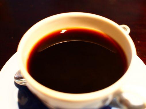 ねろーんとしたコーヒー