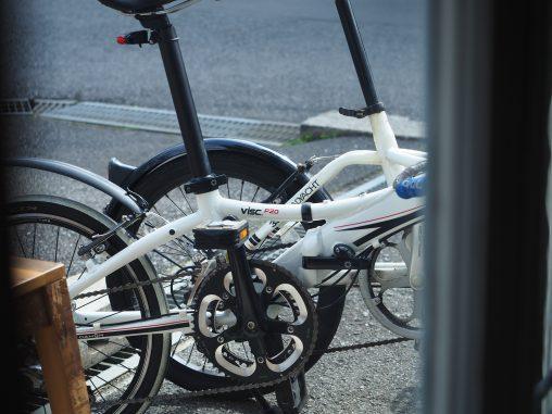 自転車コーヒー散歩