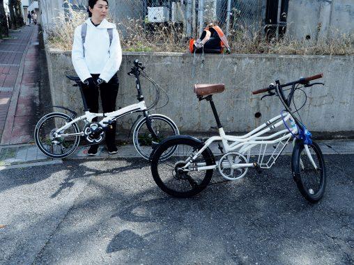 自転車でコーヒー