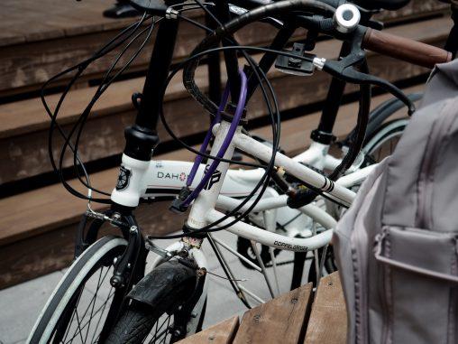 休憩 自転車