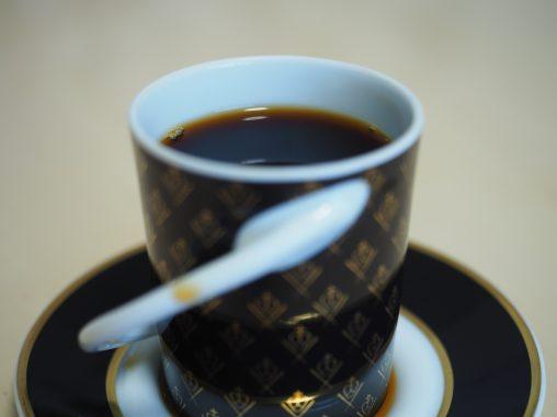 かわった取っ手のデミカップ
