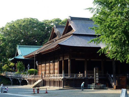 法華経寺 お堂