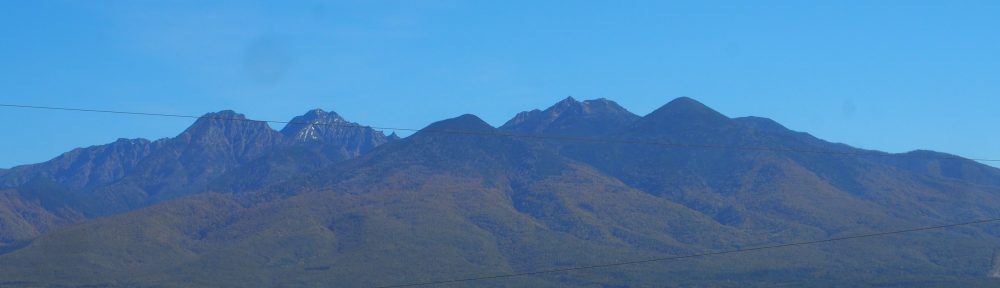 八ヶ岳 入笠山から