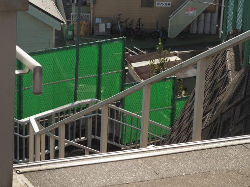 階段をおりて船橋へ