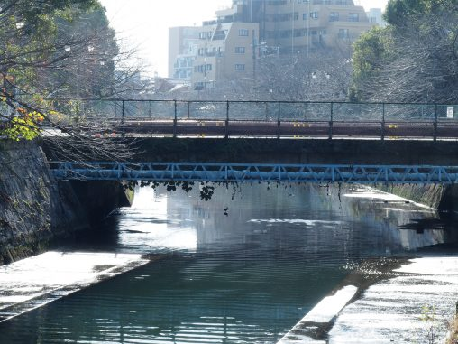 船橋市場への橋