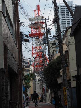 NTTの鉄塔