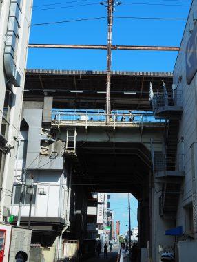 西船橋 高架